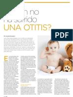 Quién no ha sufrido una otitis? | Revista GHQ #15