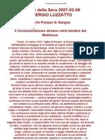 Luzzatto Sergio - Il Fondamentalismo Ebraico Del 1470