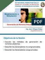 Simulacion-Semana04 Generacion de Numeros Pseudoaleatorios