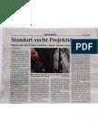 """090404_Extrablatt """"Standort sucht Projektideen"""""""