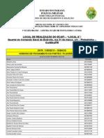 Anexo I edital n 1.224 - 2013 Convocação Ecafi Local A