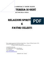Santa Teresa di Gesù - Relazioni spirituali