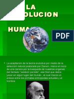 La Evolucion Humana