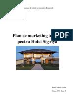 Plan de Marketing Turistic