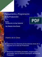 Planeamiento y Programación de Producción Clase 5