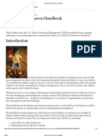 Child Care Resources Handbook