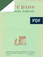 58829233 Estudios de Cultura Nahuatl 2
