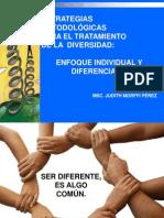 Enfoque Individual y Diferenciado