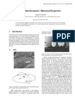 HBT Interferometry Historical Perspective