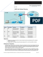 BGP and Default Routing Review