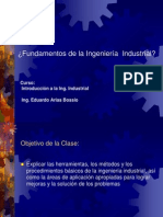 Fundamentos de La Ing. Industrial Clase 4