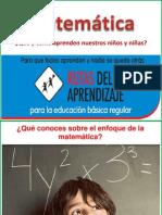 Area de Matemática desde las rutas de aprendizaje