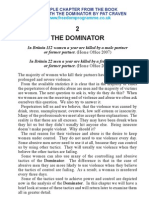 Living With The Dominator by Pat Craven