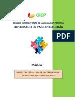 MODULO 1 Bases Conceptuales de La Psicopedagogia y La Evaluacion Psicologica