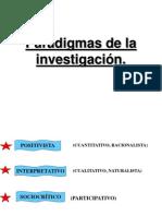 2.-PARADIGMAS DE LA INVESTIGACIÓN