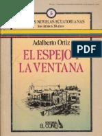 Adalberto Ortiz - El Espejo y La Ventana