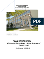 Plan Managerial 2012-2013 BUN