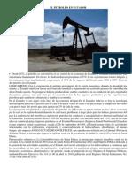 El Petroleo en Ecuador
