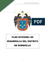 Plan Integral de Desarrollo 2015