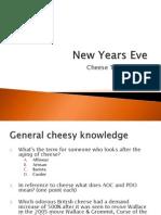 New Years Eve Cheese Quiz 2011