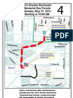 Rochester-Rochester Hills Memorial Day Parade Map