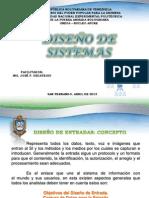 Diseño de Sistemas ( Entrada y Salida)