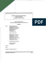 SSLC Meeting Minutes 01-2009