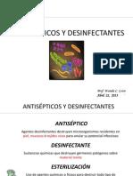 ANTISÉPTICOS Y DESINFECTANTES 2013