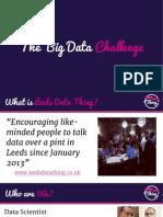Big Data Challenge 2013