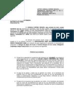 Demanda Gonzalo Espino Segura en Contra de Hsbc