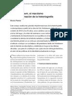 Pierre, Matari - Hobsbawn, el marxismo y la transformac de la historiografía