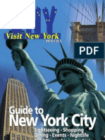 Visit New York Guide English March 2013