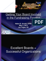 Getting Your Board Involved in the Fundraising Process