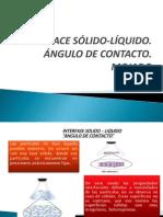 INTERFACE SÓLIDO-LÍQUIDO expo