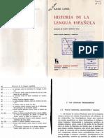 Lapesa - Historia lengua espanola (Linguistica).pdf