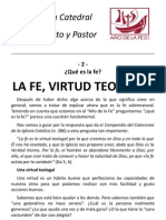 02 La Fe Virtud Teologal