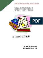 CUARTO AÑO segundo bimestre trigonometria