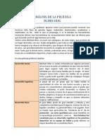 ANÁLISIS DE LA PELÍCULA no 1
