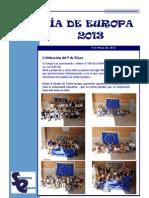 Informe Dia Europa 2013
