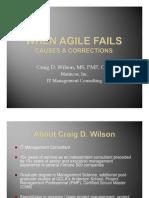 When Agile Fails