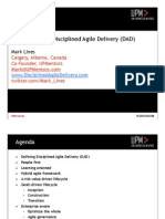 Disciplined Agile Delivery Mark Lines
