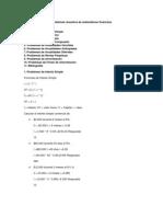 Finanzas - Problemas Resueltos de Matematicas Financiera