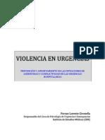 Violencia en Urgencias