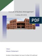 CBM / IoBM Catalog 2013-2014