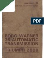 BW 35 Transmission