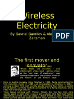 Wireless Electricity