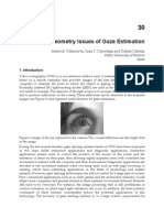 InTech-Geometry Issues of Gaze Estimation