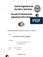 Introduccion Control Multivariable
