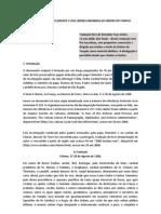 A ABSOLVIÇÃO DO PAPA CLEMENTE V AOS LÍDERES MEMBROS DA ORDEM DO TEMPLO