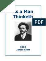 As a Man Thinketh Allen
